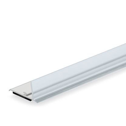 Picture of RAIL FOR DIVIDER - TRANSPARENT FRONT H. 20 MM - WITH MAGNETIC TAPE