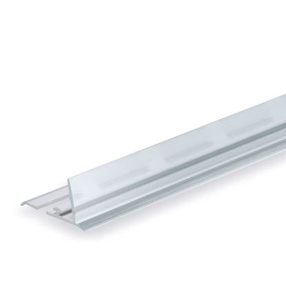 Picture of RAIL FOR DIVIDER - TRANSPARENT FRONT H. 20 MM - FOR WIRE SHELF