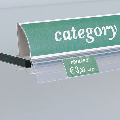 Picture of METAL LABEL HOLDER FOR ADHESIVE LABEL