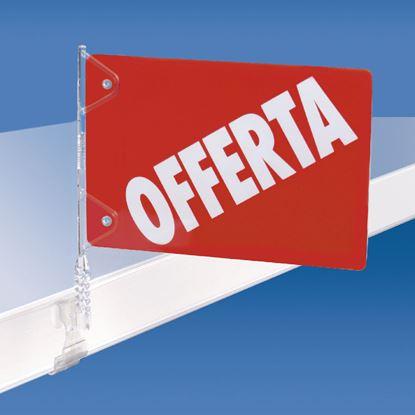 """Immagine di INSERTO """"OFFERTA"""" IN PVC PER COD. 262002/003/000"""