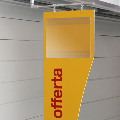 Picture of CUSTOM MADE AISLE SIGN WITH POCKET