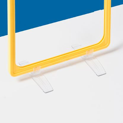 Picture of TRANSPARENT SUPPORT FOR 90° POSITIONING OF FRAMES