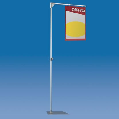 Picture of TELESCOPIC ALUMINIUM MAJOR STAND WITH 1 ARM