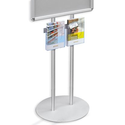 Picture of BAR FOR STAND BOARD WITH 2 BROCHURE HOLDERS