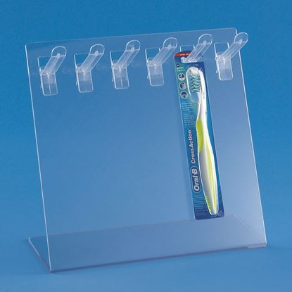 Picture of DISPLAY WITH PRONG HOOKS FOR BLISTER PACKS