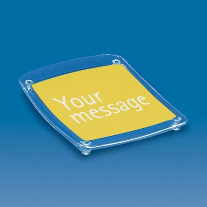 Picture of TRANSPARENT CASH TRAY WITH MESSAGE HOLDER