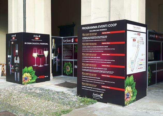 Torino - Salone del Gusto 2018 - Partner di Coop Italia