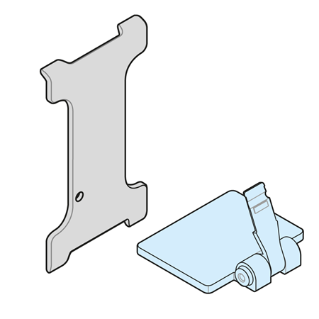 Picture for category SMALL STANDS AND TOOL FOR REMOVAL LABEL