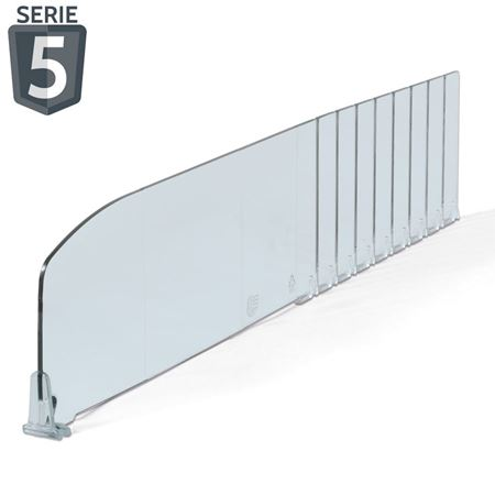 Picture for category Series 5: DIVIDERS H. 100 mm - without stopper